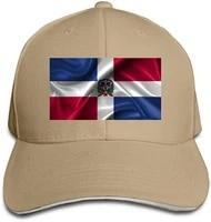 dominican republic flag unisex dad hat trucker hats baseball hats driver adjustable sun cap