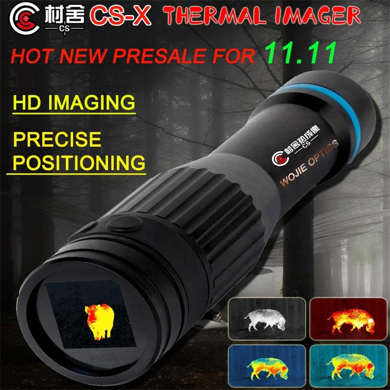 CUNSHE CS-X тепловое видение патруль инфракрасное ночное видение тепловизор прицел ночное видение охотничья Оптика прицел Прицелы