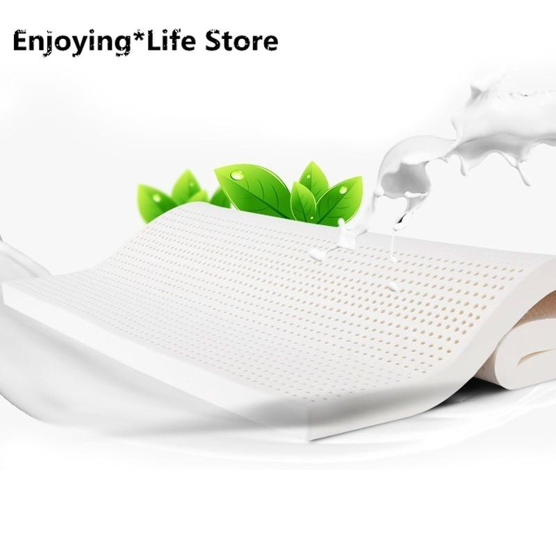 5 Cm Natural Latex Mattress Tatami ThicknessFolding for Bed Mattresses Topper with Soft Memory Foam Mattress  Queen Mattress
