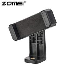 ZOMEI trépied montage adaptateur téléphone portable support de tondeuse Vertical 360 support avec 1/4 trou de vis pour téléphone pour appareil photo