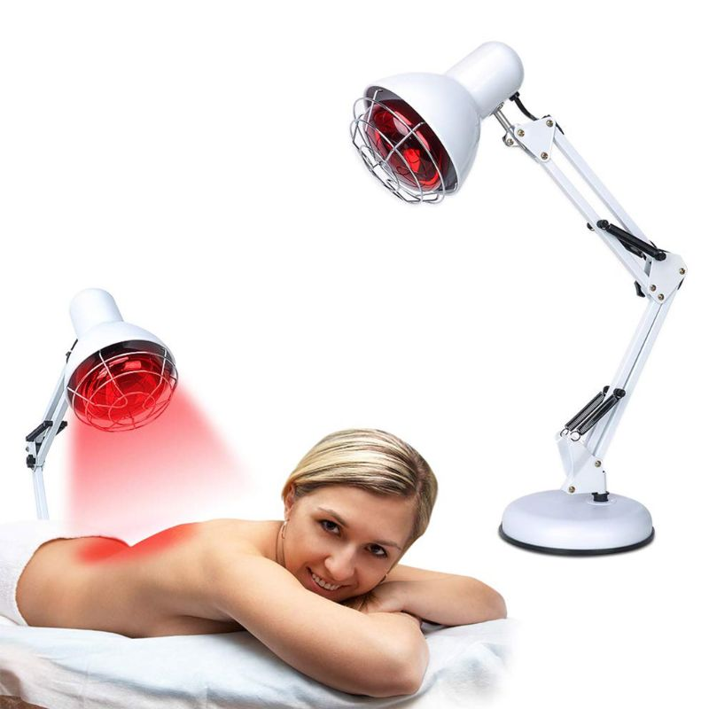 100W Near Infrared Red Light Therapy Massage Heating Lamp Neck Ache Muscle Joint enlarge
