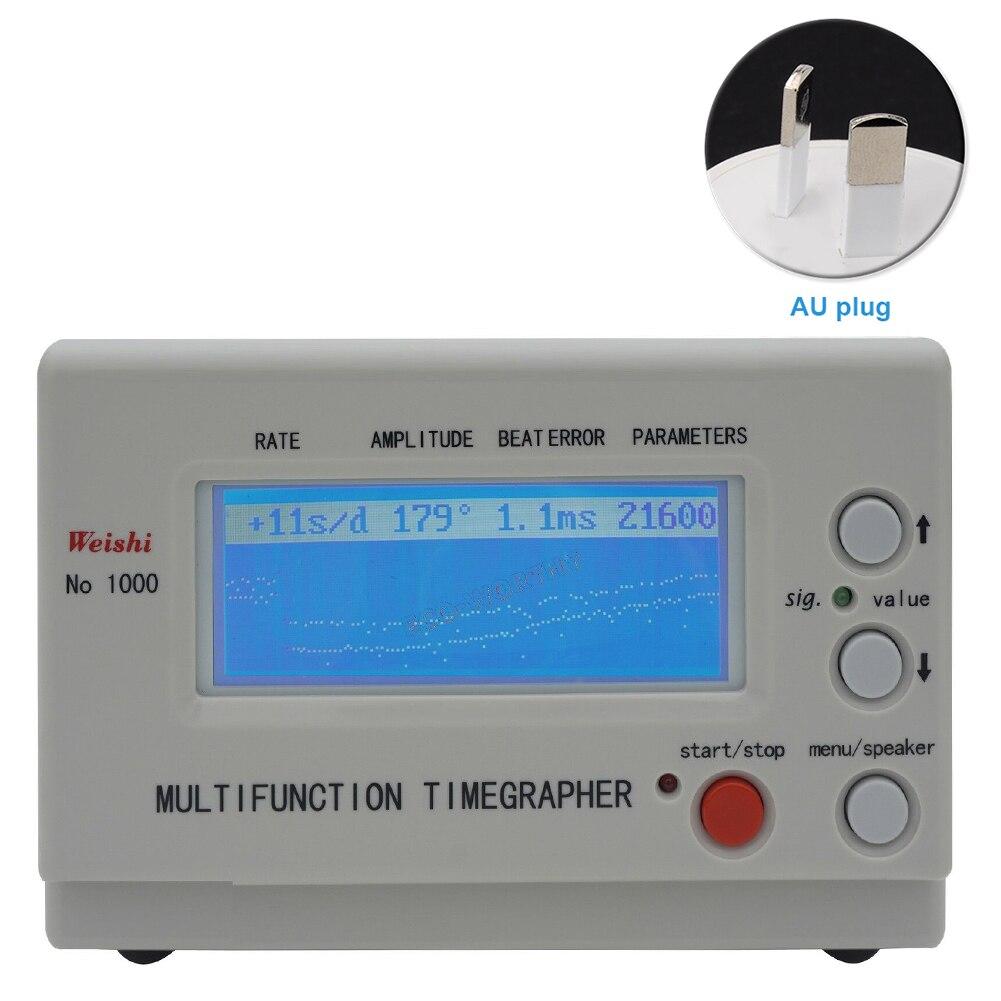 MTG 1000, reloj profesional, prueba de sincronización para relojero, herramienta de calibración, reloj preciso, cronógrafo mecánico multifuncional