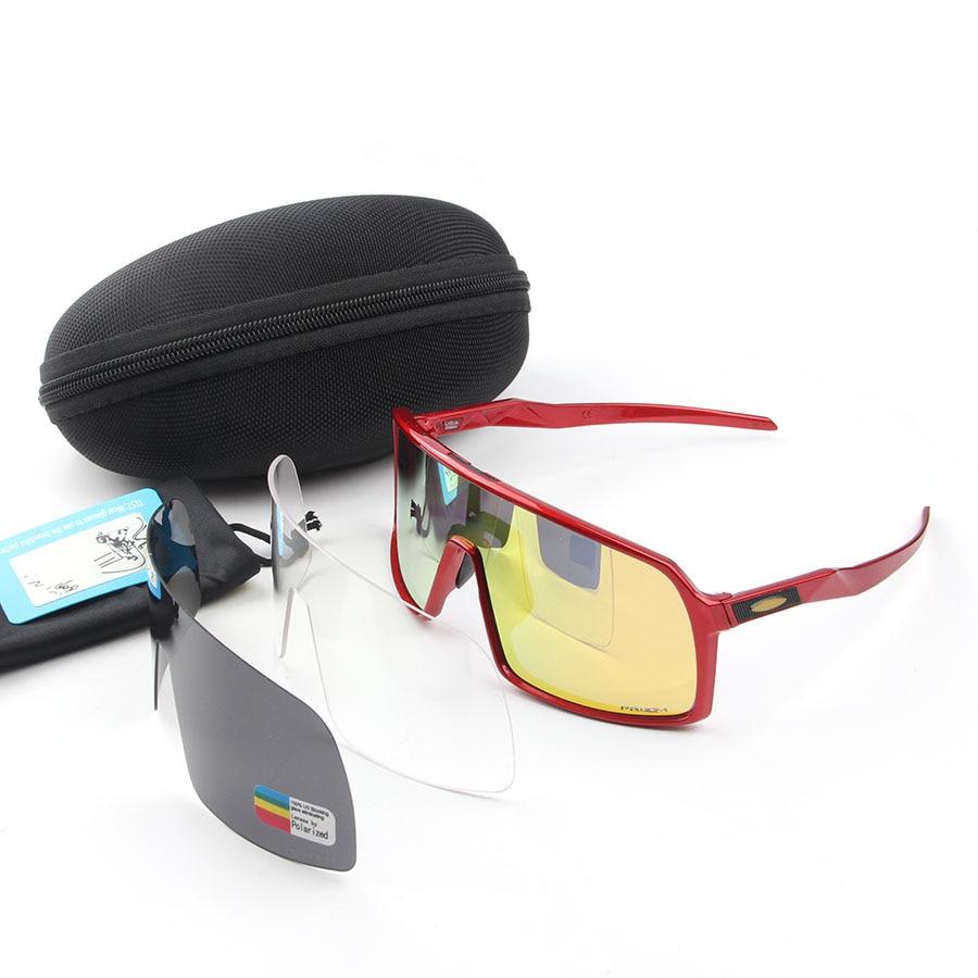 P R O. Sports Sagan Polarized Sutro Cycling Glasses Cycling Goggles Men Women bike Glasses UV400 Cycling sunglasses 3 Lens