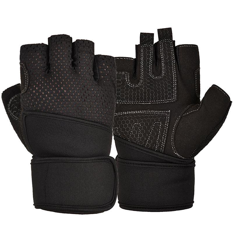 Guantes de gimnasio útiles, guantes deportivos para hacer ejercicio, levantamiento de pesas,...