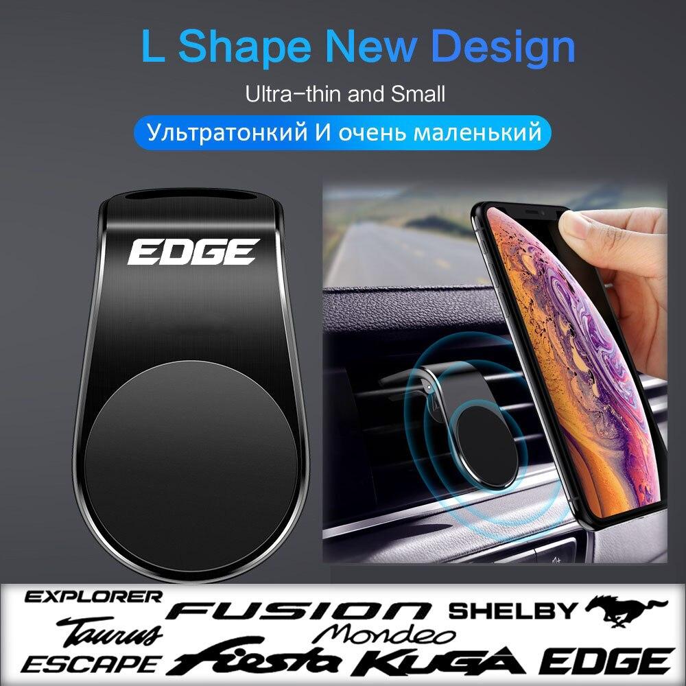 Креативная Магнитная Автомобильная решетка для вентиляции, магнитный держатель, магнитная решетка для вентиляции для ford edge, аксессуары