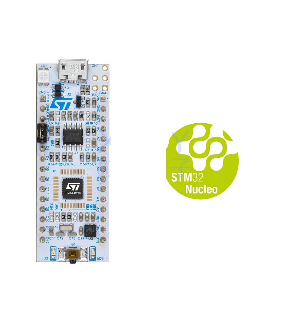 NUCLEO-L412KB STM32L4 низкая мощность серии макетная плата STM32L412KBU6U ST