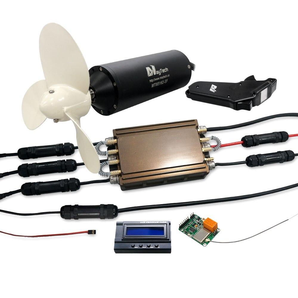 Maytech 65162 Efoil комплект полностью водонепроницаемый Efoil комплект с 65161 мотором с пропеллером 300A ESC MTSKR1905WF пульт дистанционного управления