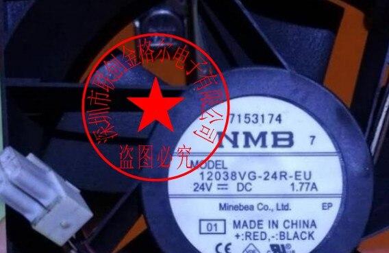 BRAND NEW 12038VG-24R-EU 24V 1.77A 4WIRES ORIGINAL JAPAN 12038 IMPORT AXIAL FLOW FAN FANS