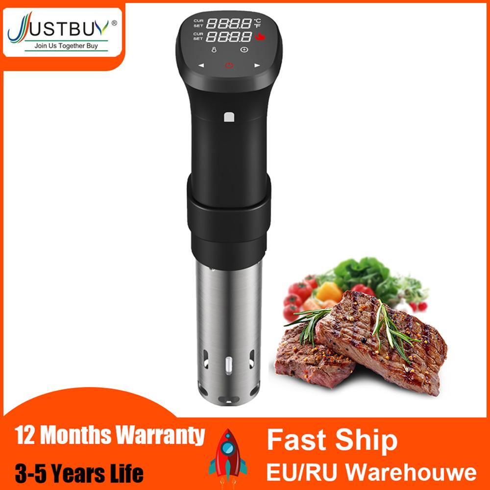Hot sell in korea 1800W LCD Touch Sous Vide Cooker Cooking Machine Sturdy Immersion Circulator Digital Timer Slow Cooker