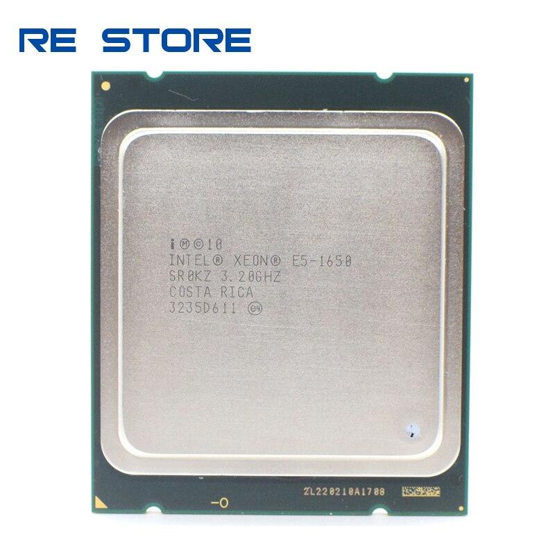 Se Intel Xeon E5 1650 de 3,2 GHz 6 Core 12Mb de caché Socket 2011 procesador de CPU SR0KZ