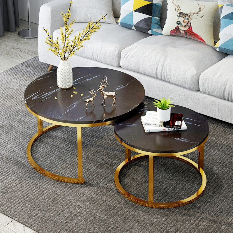 Coffee Tables Table Basse furniture table basse de salon Round Table coffee table for living room bedroom furniture cafe table недорого