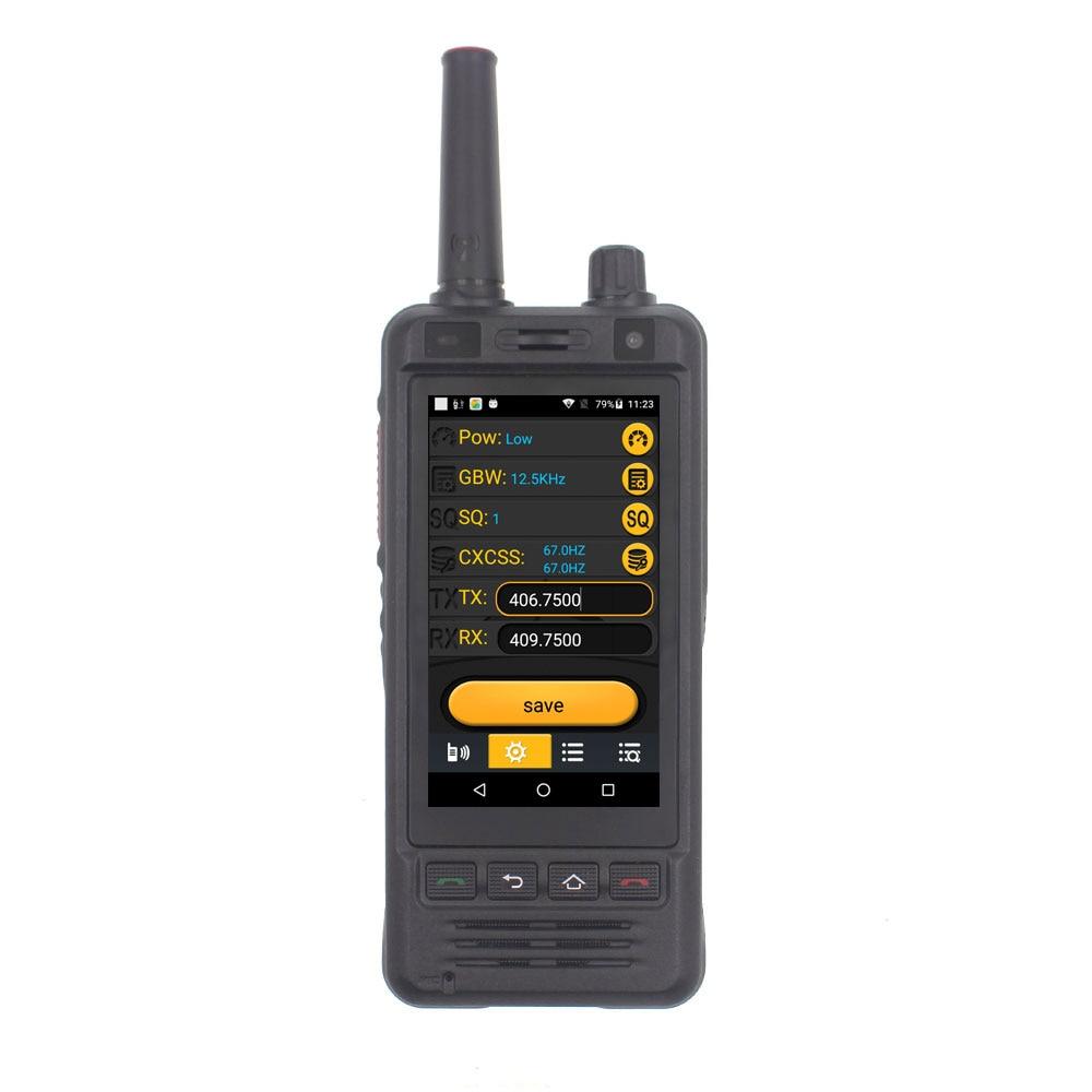 جديد Anysecu 3G Wifi راديو W5 الروبوت 6.0 الهاتف PTT راديو IP67 UHF اسلكية تخاطب 5MP كاميرا REALPTT ZELLO POC الإرسال والاستقبال