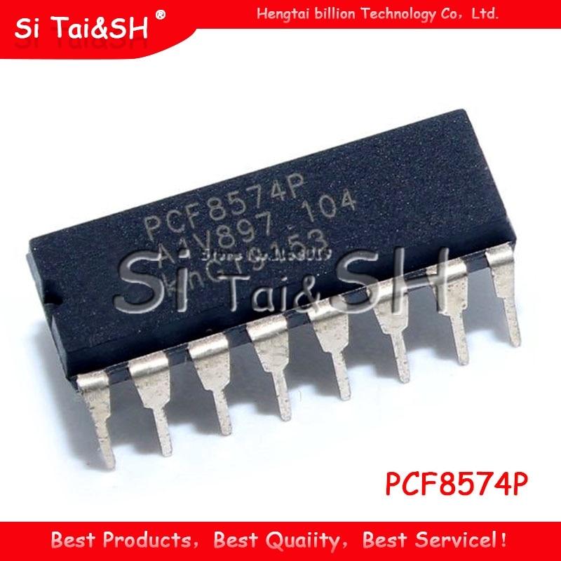 5PCS PCF8574P DIP16 PCF8574 DIP 8574P DIP-16 PCF8574AP nuevo y original IC