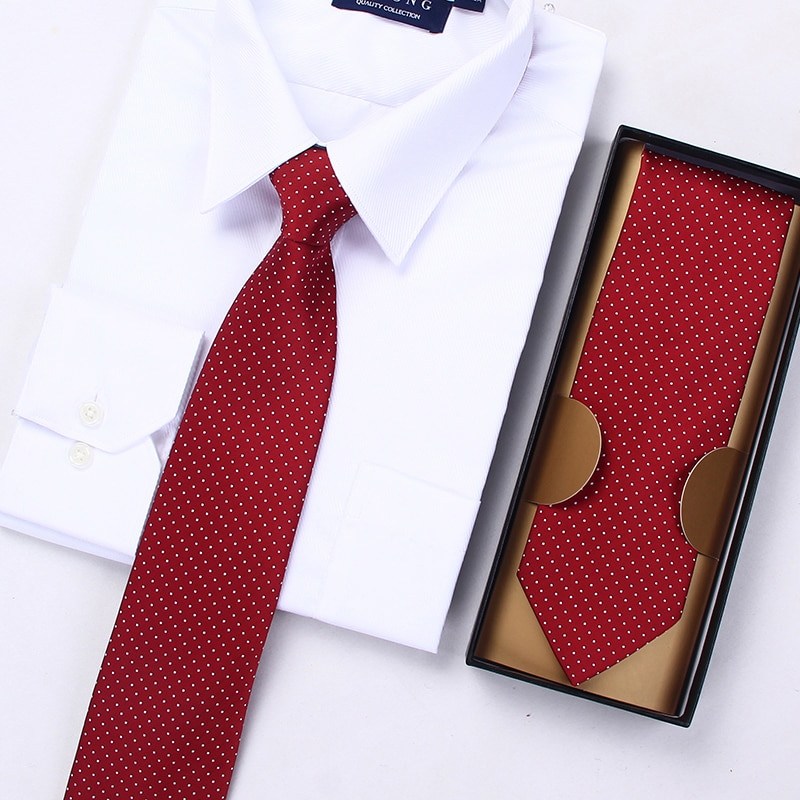 2019 New Fashion Ties Men Business Hotel Casual Striped Blue 8cm Tie Wedding Formal Ties for men Designers Brand with Gift Box