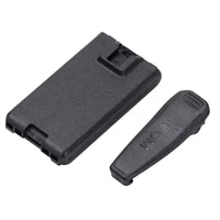 1pcs bp 263 battery box without batteries for bp 263 w clip battery case 6 x aa supplied for icom ic v80