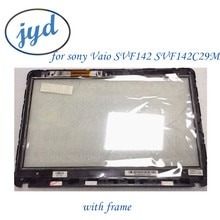 Nieuwe Voor Sony Vaio SVF142 SVF142C29M SVF142C29L SVF142C1DT SVF142A26T SVF143 Touch Screen Digitizer + Frame 4HHK8BHN000