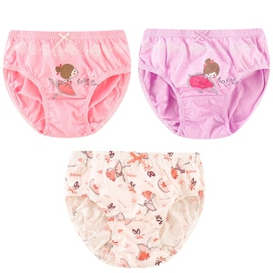 V-TREE Girls Underwear 5 Pieces/Lot 2-12Y Pure Cotton Girls Panties Cute Infant Kids Boxer Briefs Children Underpants