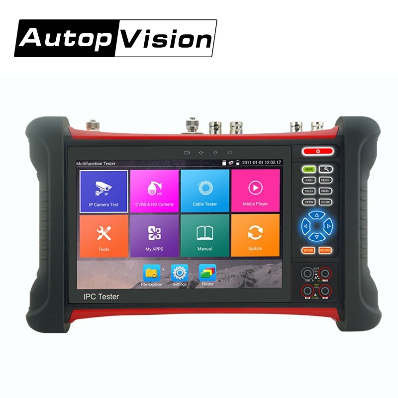 X7-MOVTADHS IP Analog Camera Tester 8MP CCTV Tester Monitor with Analog+lP+ AHD+CVI+TVI+SDI 6 in 1 Multifunction CCTV Tester enlarge