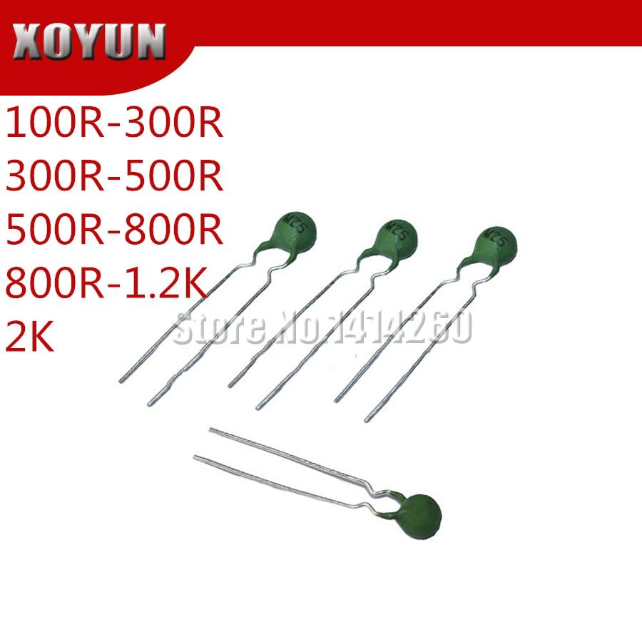 50pcs PTC thermistor MZ31-05M MZ5 100R-300R 300R-500R 500R-800R 800R-1.2K 2K