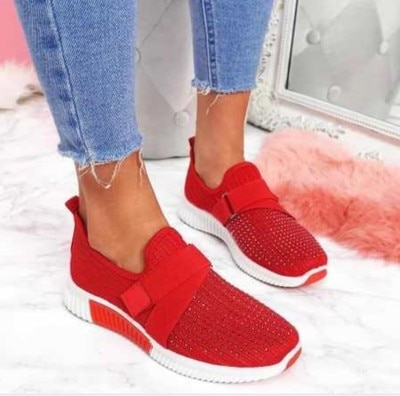 Women's shoes flat soft sole casual rhinestone single shoes women fashion all-match sports shoes personality trend hot selling