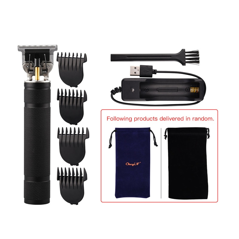 T9 Professional Men Cordless Hair Trimmer USB Rechargeable Electric Hair Clipper Beard Shaver Trimmer Men Barber Hair Machine enlarge