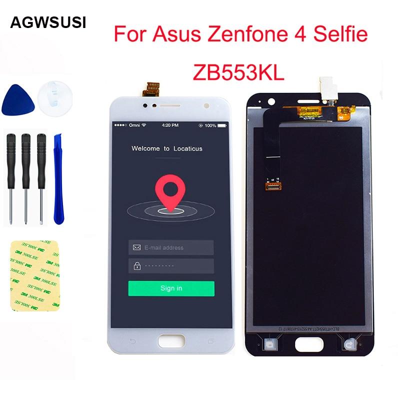 LCD para Asus Zenfone 4 Selfie ZB553KL táctil LCD para ASUS X00LD pantalla LCD X00LDA pantalla LCD + Touch montaje para pantalla