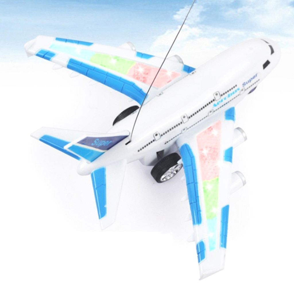 Simulation Electronic Remote Controlled Aerobus RC Toy Airplane Kids Children Toy Birthday Gifts –