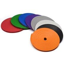 8M Car Vehicle Color Wheel Rims Protectors Decor Strip Tire Guard Line Rubber Moulding Trim Sticker