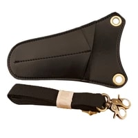 scissor holster hairdresser special hairdressing scissors bag leather triangle tool bag creative trend barber bag
