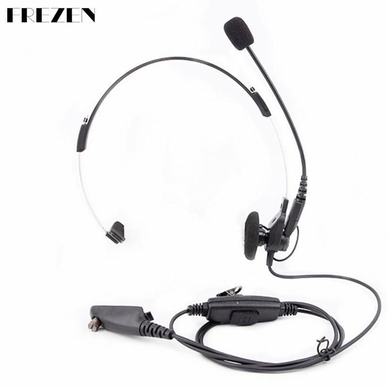 Single-sided CS premium headset For Motorola two way radio GP328 GP338 GP340 HT750