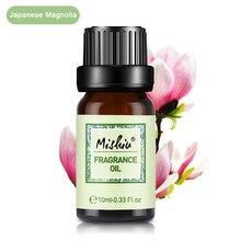 Fragancia de fruta soluble en agua de Mishiu, aceite de Magnolia japonesa, Sándalo, Cítricos para difusores de aromaterapia, Olis10ML