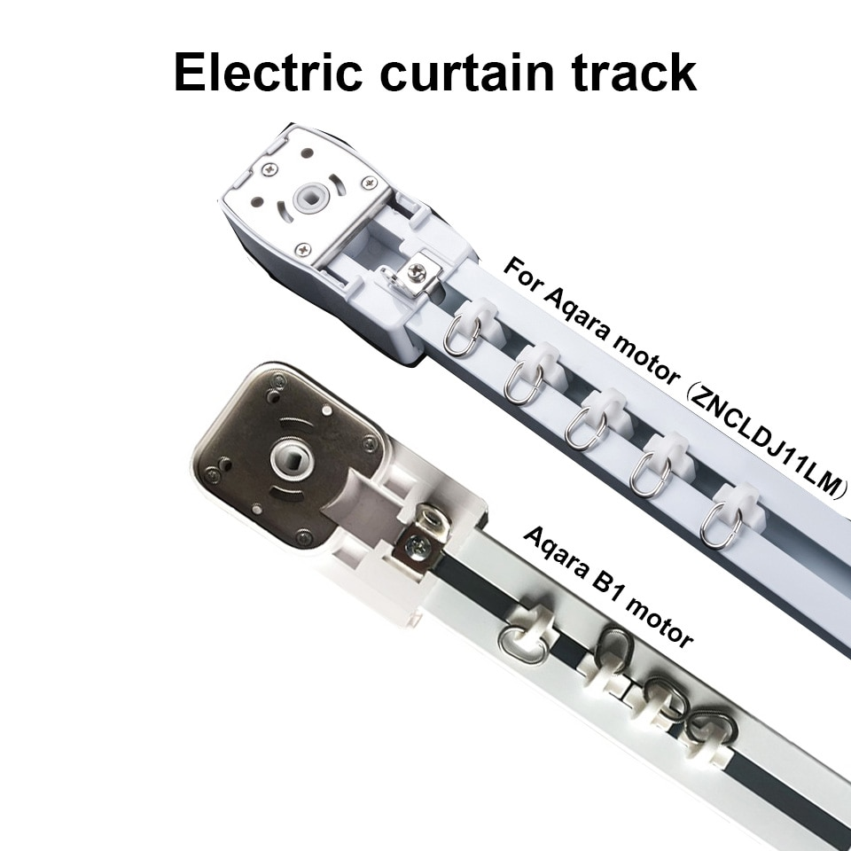 To RU Country Super Silent Electric Curtain Track for Aqara/Aqara B1/A1 motor,Aqara Smart Home Curtain Rail Control System