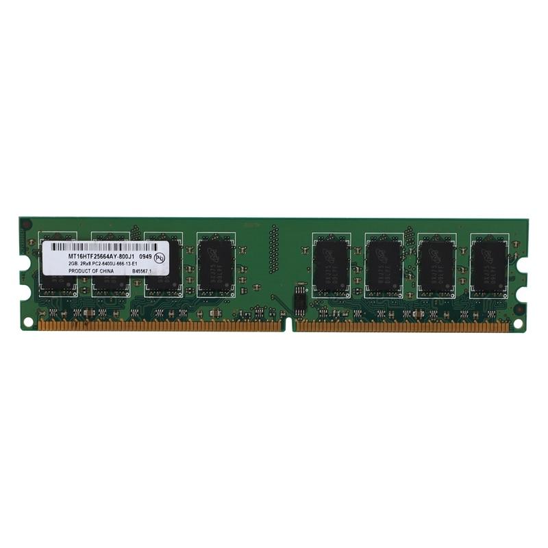 2gb desktop ddr2 ram memória 800mhz 2rx8 dimm PC2-6400U alto desempenho para amd placa-mãe