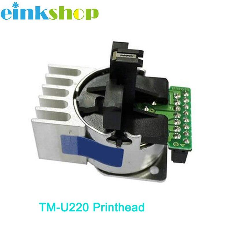 Einkshop cabeza de impresión TM-U220 cabezal de impresión Epson TM-220 U220PD U220PA B M188D U288B TM-220 TM-U220B TM-U220PB impresora de matriz de punto