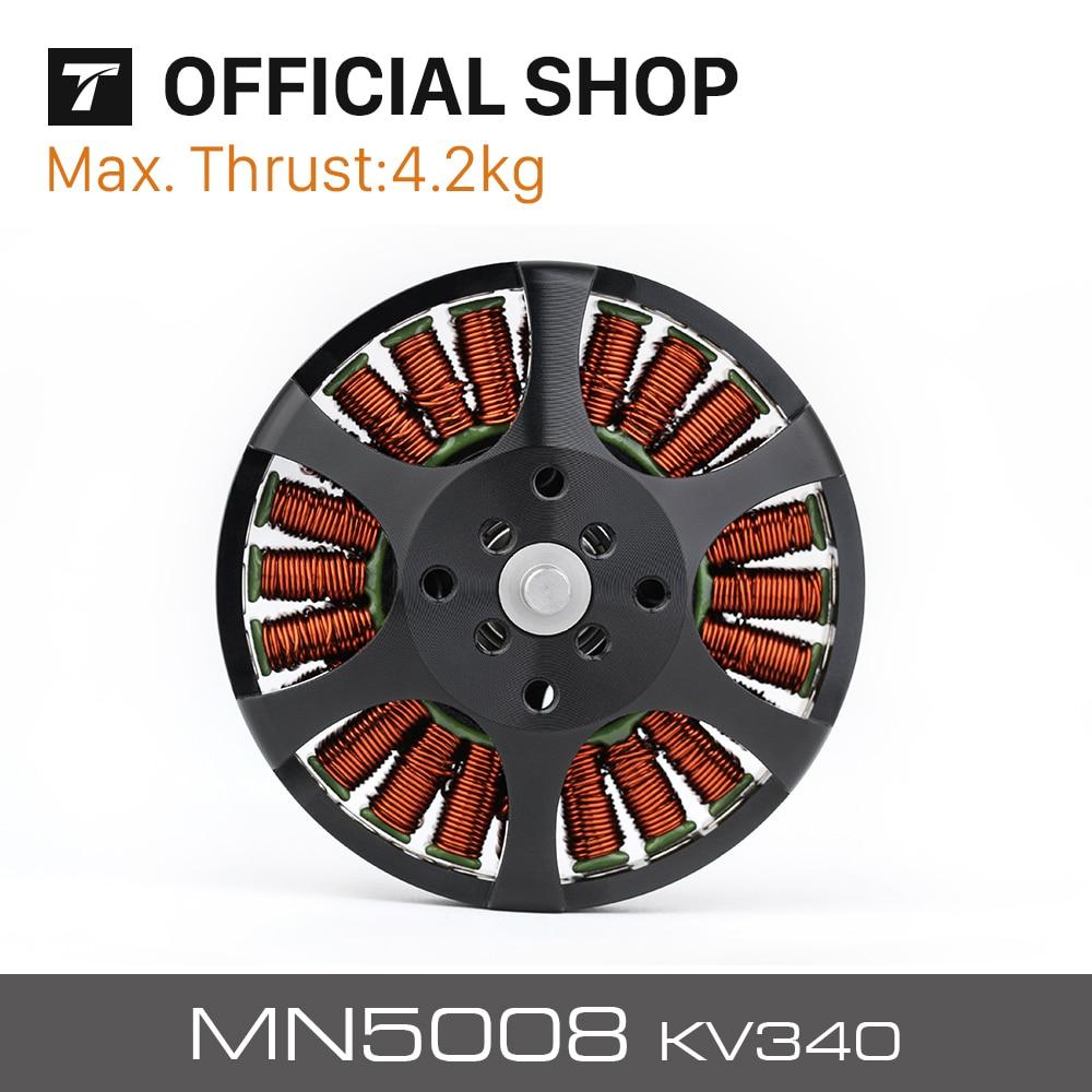 T-موتور MN5008 KV170 KV340 KV400 فرش السيارات المضادة للجاذبية الخفيفة وفعالة 6-12S 4.2 كجم ماكس الثقة P17x5.8 / P18x6.1
