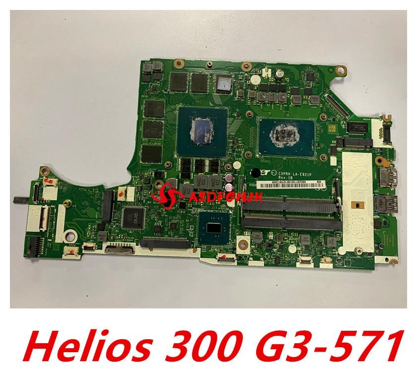 C5PRH LA-E921P لشركة أيسر المفترس هيليوس 300 G3-571 H317-51 اللوحة اللوحة NBQ2B11001 i7-7700HQ GTX1060M DDR4 اختبار بالكامل