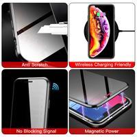 Защитное магнитное стекло для смартфона с антишпионским покрытием #4