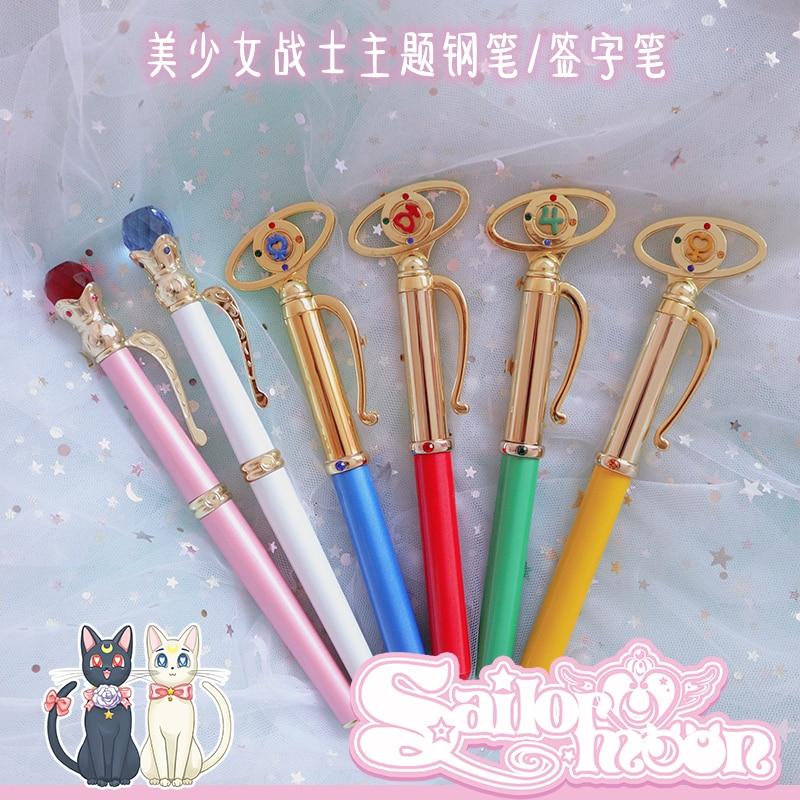 Limitado Japón Anime Sailor Moon 20th Princess Senerity aniversario Miracle Stift pluma estilográfica colección de regalos para cumpleaños