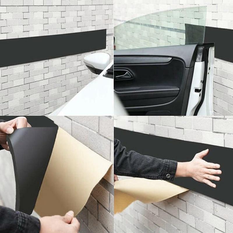 1*200x20 centímetros Porta Do Carro Carros Carroçaria Guarda Anti Risco Auto Adesivo Protetor de Canto Adesivo de Parede Da Garagem de Estacionamento