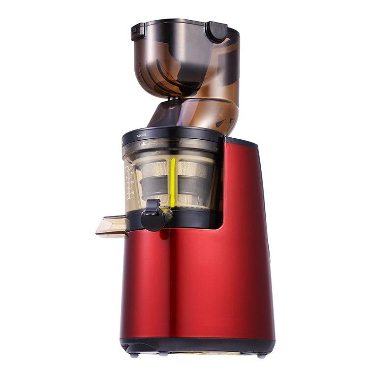 Exprimidor eléctrico de baja velocidad multifunción de gran diámetro con separación de jugo de escoria automática
