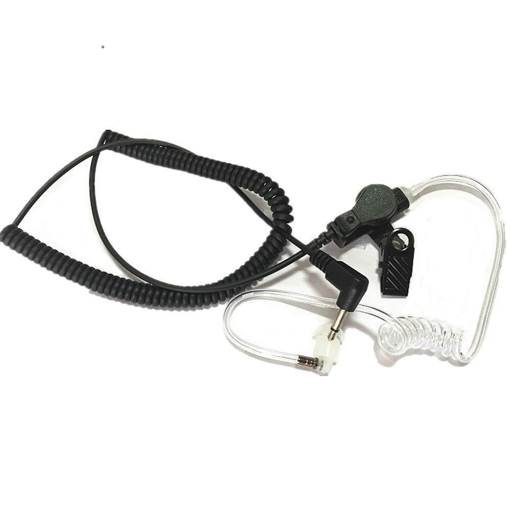 10 xListen Apenas Vigilância Covert Acústico Tubo fone de Ouvido Fone de Ouvido Para MOTOROLA XTS2500 XTS3000 XTS3500 XTS5000 Mic Speaker 3.5mm