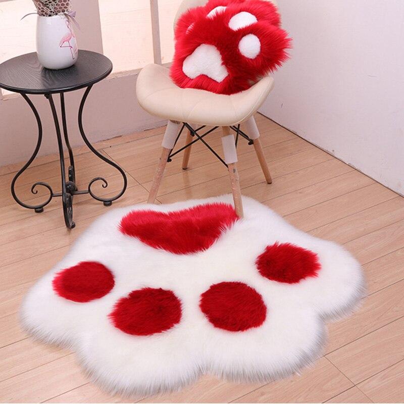 الإبداعية لطيف الدب باو شكل أفخم السجاد غرفة المعيشة المنزلي غرفة نوم حصيرة مكتبية السرير مريحة السجاد الزخرفية