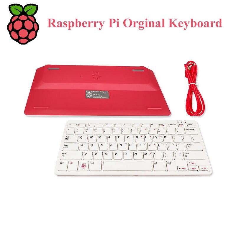 Teclado oficial e mouse para raspberry pi 4b raspberry pi 3b computador