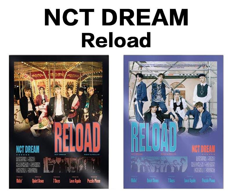 [MYKPOP]100% ORIGINAL oficial-NCT DREAM cargar CD KPOP colección de Fans-SC20051811