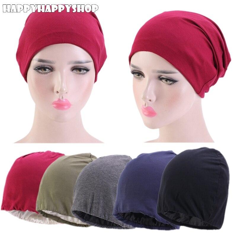 Chapéu de quimio hiar capa beanie headwrap bandana muçulmano índia nova moda de alta qualidade de alta qualidade