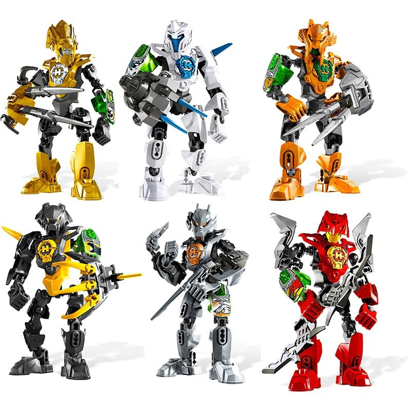 2021 New Hero Factory Robots Bionicle Action Figures Model Building Blocks Bricks Toys For Kids