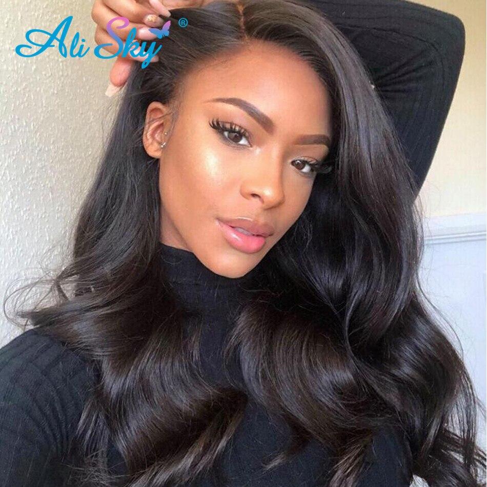 Alisky Hair-وصلات شعر برازيلية مموجة ، شعر بشري ، 5 × 5 ، وصلات شعر ريمي