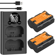 2pcs 2600mAh NP-W235 NP W235 Battery + Dual Charger with USB cable for Fujifilm Fuji X-T4, XT4 Digit