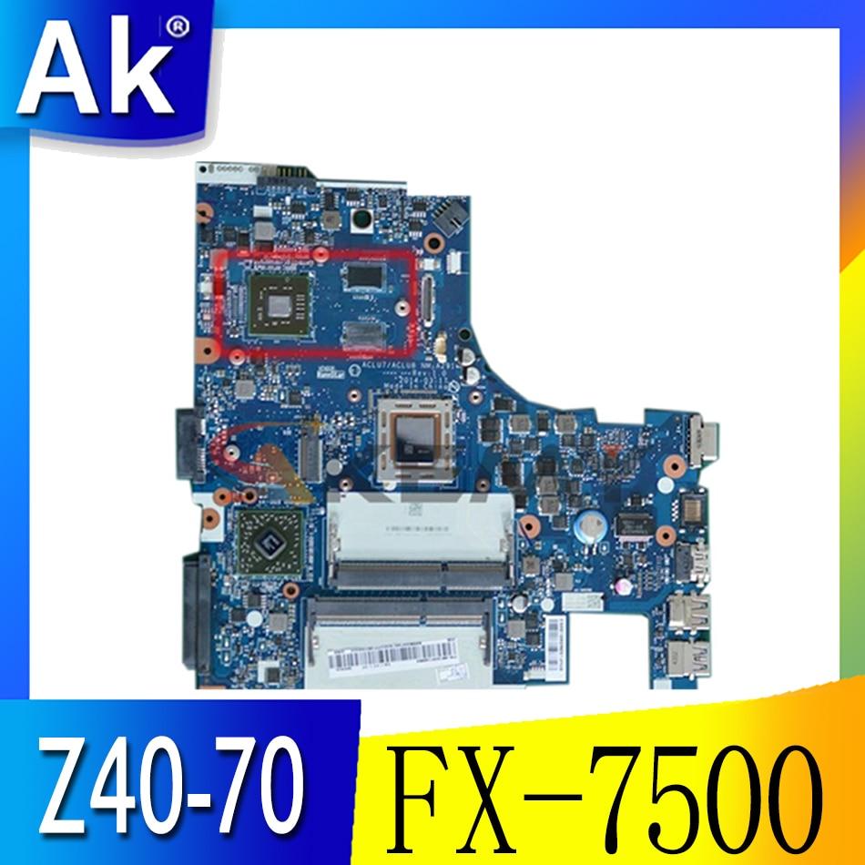 Z40-75 اللوحة المحمول FX-7500 DIS 2G عدد 5B20F66783 5B20F66776 5B20F66788