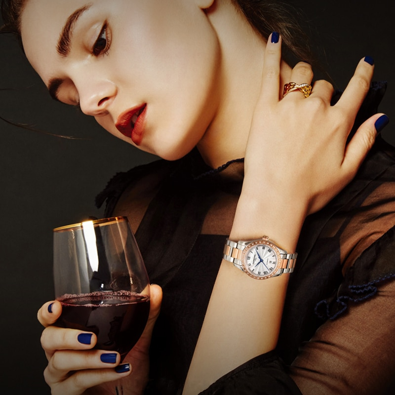 CARNIVAL Luxury Brand Ladies Fashion Automatic Bracelet Watch Woman Waterproof Casual Mechanical Wristwatches Relogio Feminino enlarge